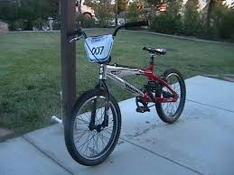 bmx racing bicycle