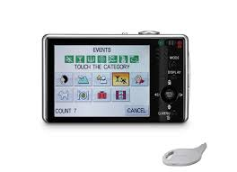 new touch screen cameras