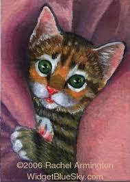 kitten painting