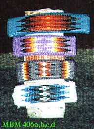 beaded barrettes