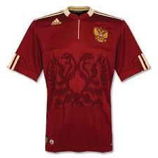 russia home shirt