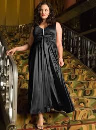 plus sized evening dress