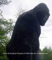 sasquatch statue