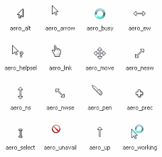 mouse pointer cursors