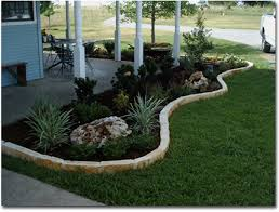 flower bed edging stone
