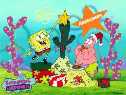 sponge bob christmas pictures