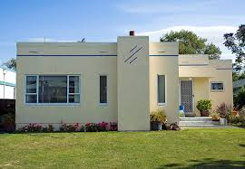 art deco home