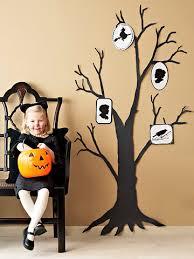 black halloween trees