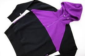 half zip hoody