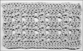 crocheting stitches