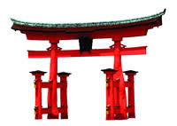 japanese archway