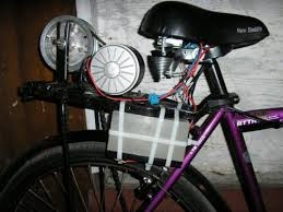 homemade electric bike