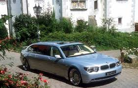 bmw 7 series limo