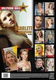scarlett johansson calendar