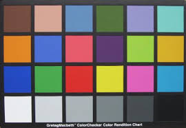 gretag macbeth colour checker