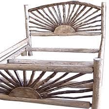 rustic bed frames