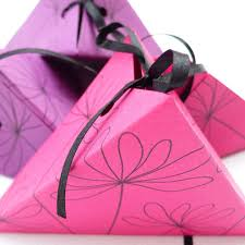 purple gift boxes