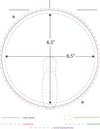 hand fan templates