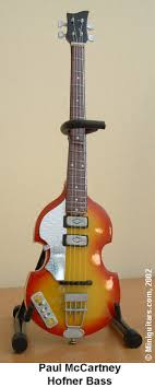 paul mccartney hofner bass