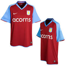 aston villa new shirt
