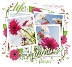 flowers congratulations