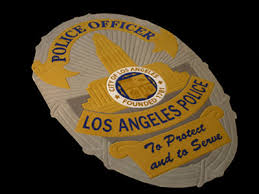 lapd police badge