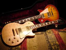 gibson les paul blonde beauty