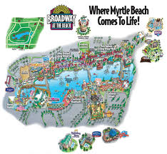 broadway at the beach map