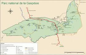 gaspesie map