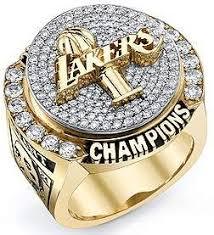 laker championship rings