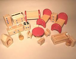 plastic dolls house furniture