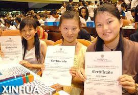jovenes chinas