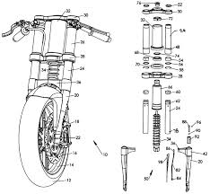 motorcycle front suspension