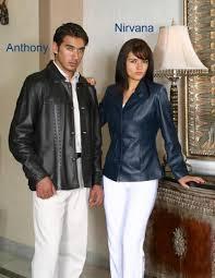 casacas de cuero