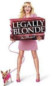 legally blonde the musical poster