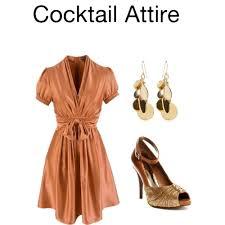 casual cocktail attire