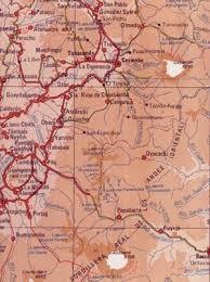 mapa vial de ecuador