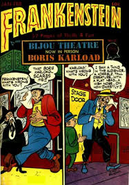 frankenstein comics