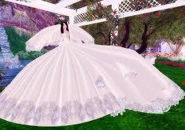 large wedding dress