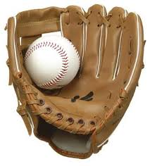 pictures of a baseball glove