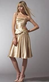 gold prom dresses 2009