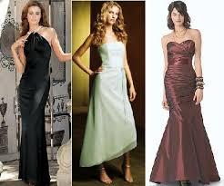 formal bridesmaid dress