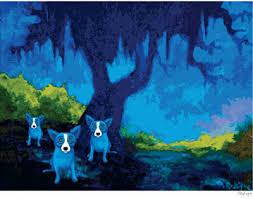 rodrigue blue dog