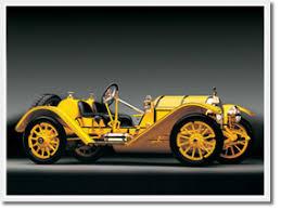 brass car