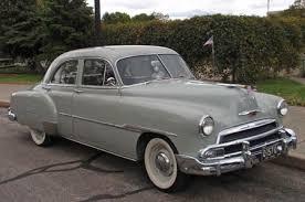 1951 chevy car
