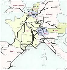 europe train map