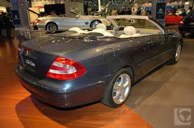 mercedes clk 320 convertible