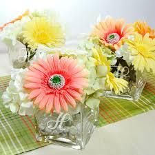 glass vase centerpiece