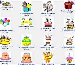 birthday clip art free