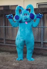big blue dog